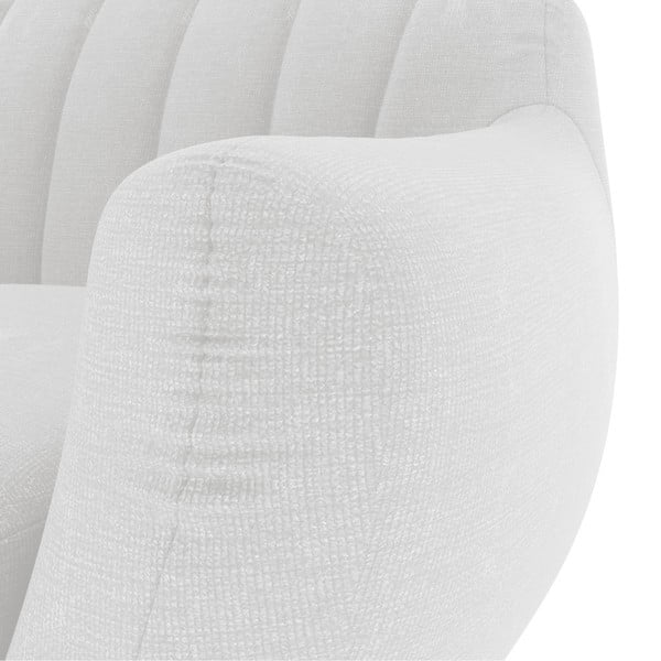 Pastelovosivá dvojmiestna sedačka Vivonita Kennet
