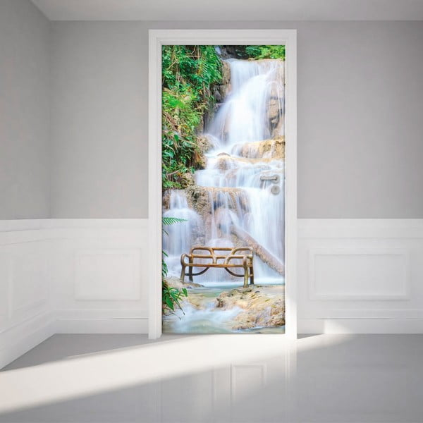 Adhezivna samolepka na dvere Ambiance Waterfall