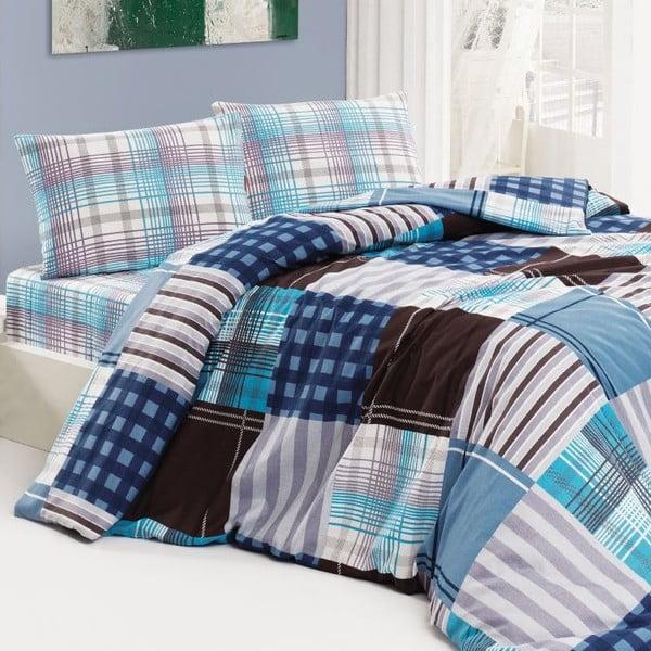 Obliečky Ekose Blue, 240x220 cm