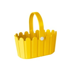Kvetináč Landhaus Basket Yellow