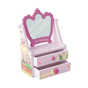 Šperkovnica so zrkadlom My Princess
