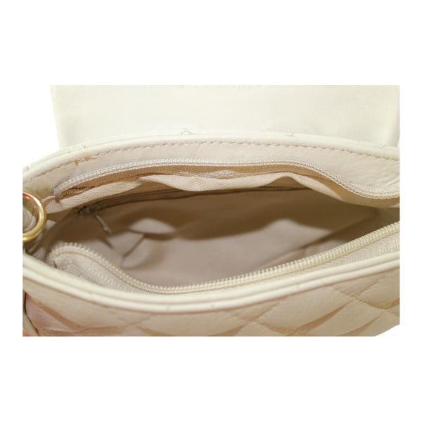 Sivá kožená kabelka Serena