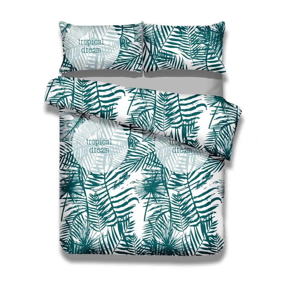 Sada bavlnenej obliečky na perinu a obliečky na vankúš AmeliaHome Averi Bush, 155 × 220 cm + 80 × 80 cm
