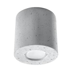 Sivé betónové stropné svietidlo Nice Lamps Roda
