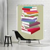 Kúpeľňový záves Dr Suess Books Pile, 180x180 cm