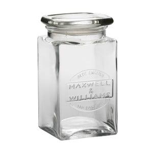 Sklenená dóza Maxwell & Williams Jar, 1 l