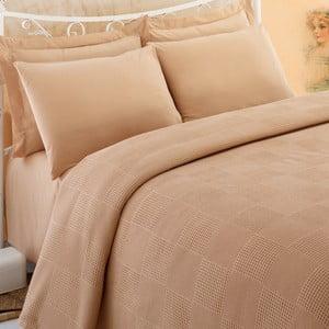 Prikrývka cez posteľ Pique 281, 200x230 cm