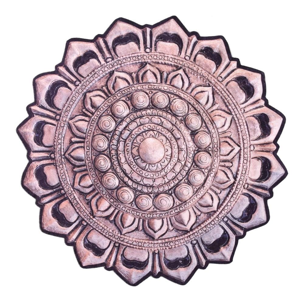 Koberec Vitauss Garuda, ⌀ 80 cm