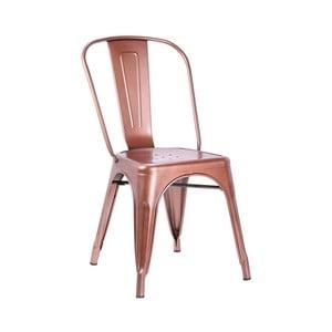 Stolička v medenej farbe Leitmotiv Dazzle