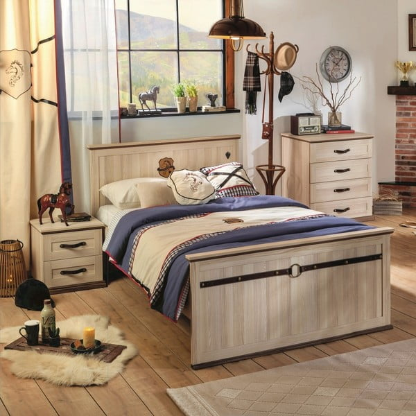 Jednolôžková posteľ Royal Bed, 120 × 200 cm