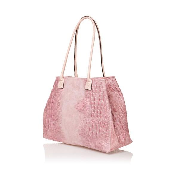 Kožená kabelka Anabela, ružová