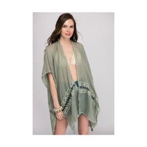 Zelená dámska tunika z čistej bavlny NW Afrodité