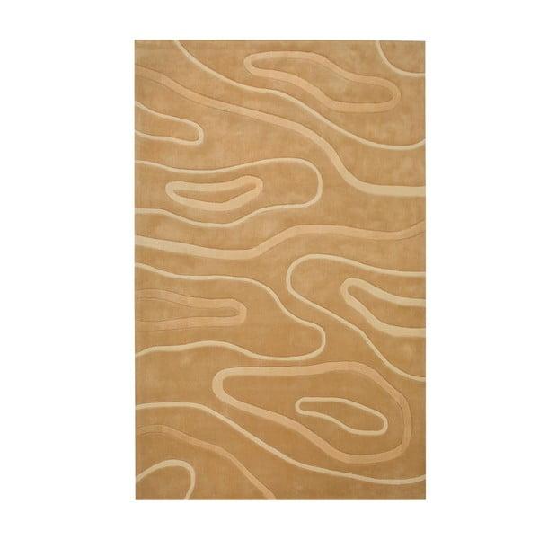 Ručne tkaný koberec Phoenix, 120x180 cm, béžový
