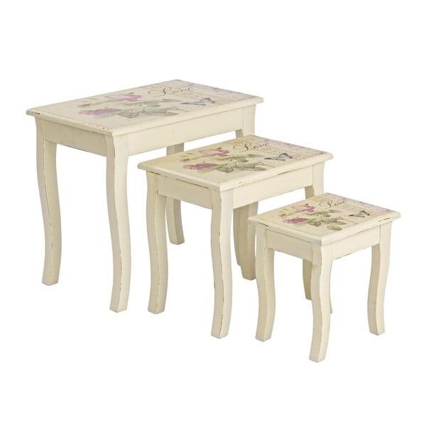 Set 3 stolíkov Madame