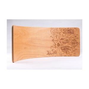 Buková hojdacia doska Utukutu Teepee, dĺžka82 cm