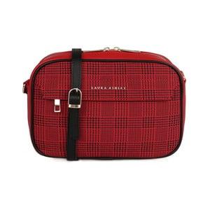 Červená listová kabelka Laura Ashley Furley