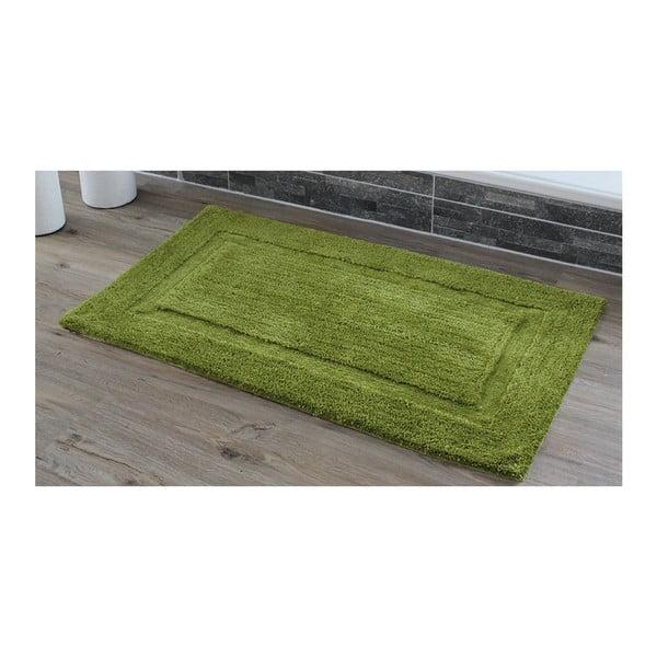 Kúpeľňová predložka Rahmen Green, 50x70 cm