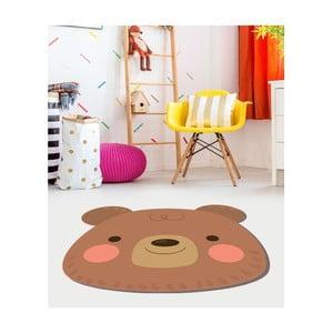 Detský vinylový koberec Floorart Medvedík, ⌀ 150 cm