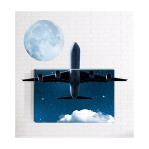 Nástenný 3D obraz Mosticx Lietadlo, 40 x 60 cm