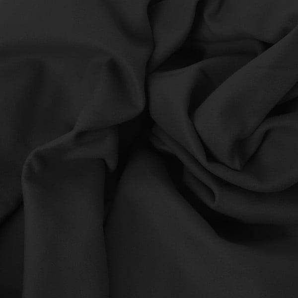 Čierna rýchloschnúca osuška DecoKing EKEA, 80 × 160 cm