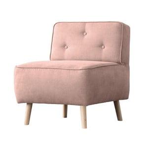 Ružové kreslo Kooko Home Lounge
