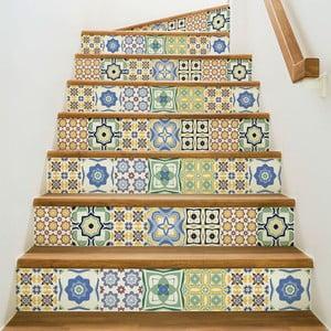 Sada 2 samolepiek na schody Ambiance Stickers Stair Sephora, 15 x 105 cm