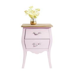 Ružová drevená komoda Kare Design Romantic