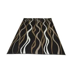 Vysokoodolný koberec Floorita Como Charcoal, 160 x 230 cm