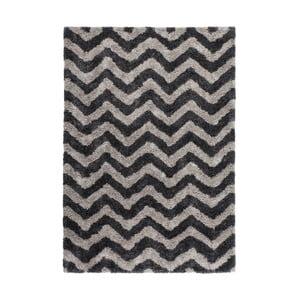 Ručne tkaný koberec Kayoom Finesse 923 Graphit, 160 x 230 cm