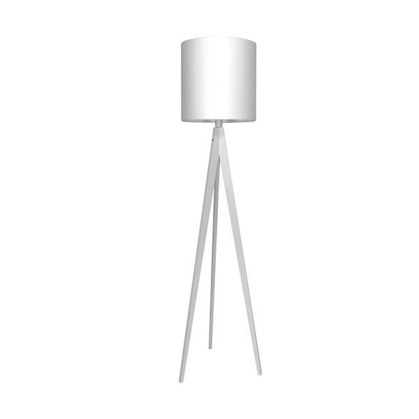 Stojacia lampa Artist White/White, 125x33 cm
