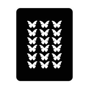 Nástenná svetelná dekorácia Butterfly, 67 × 82 cm