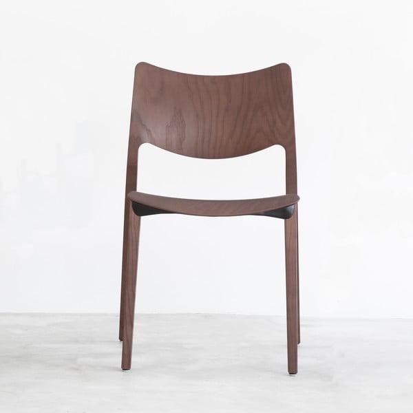 Stolička Laclasica, tmavosivá