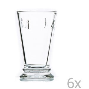 Sada 6 pohárov Abeille, 350 ml