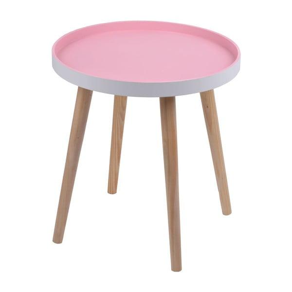 Stolík Simple Table 48 cm, ružový