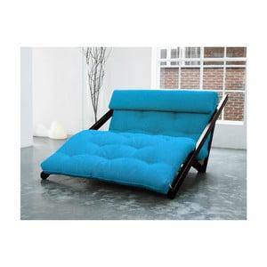 Leňoška Karup Figo, Wenge/Horizon Blue, 120 cm