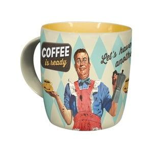 Keramický hrnček Coffeeis Ready,330ml