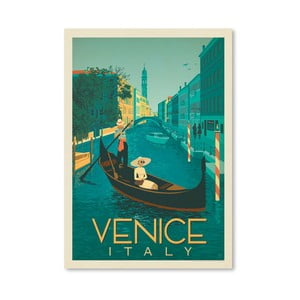 Plagát Americanflat Venice, 42 x 30 cm