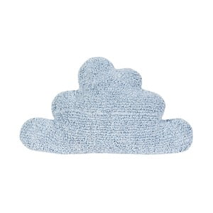 Modrý bavlnený vankúš Happy Decor Kids Cloud, 45x45cm