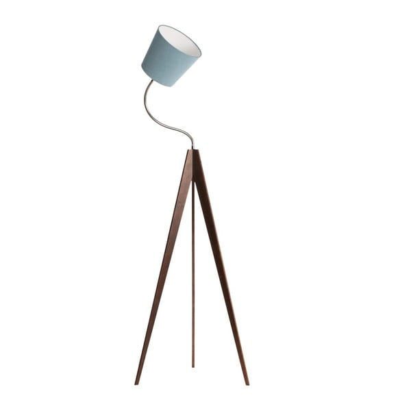 Stojacia lampa Artist Flex Light Blue/Dark Brown
