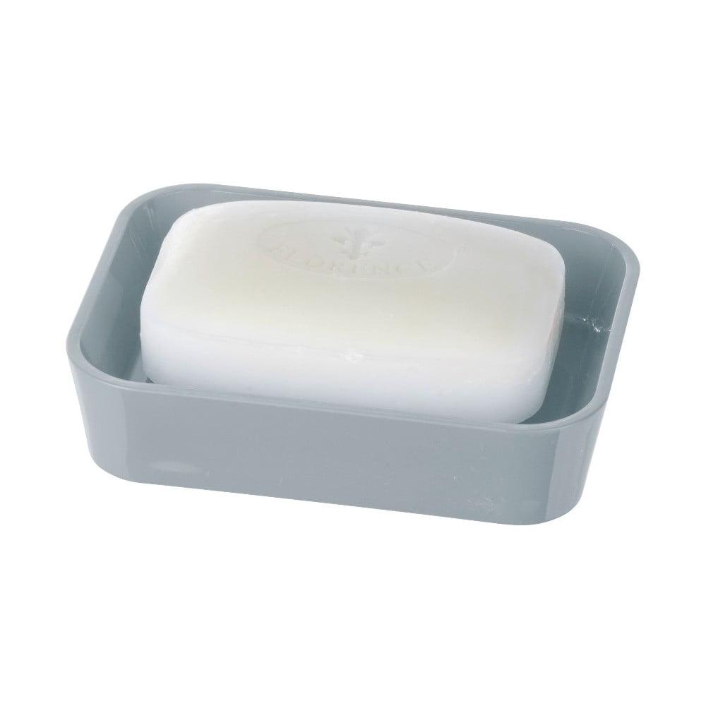 Sivá nádoba na mydlo Wenko Candy