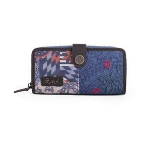 Modrá peňaženka SKPA-T, 18 x 9 cm
