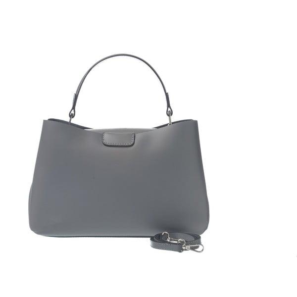 Kožená kabelka Miss Town Grey