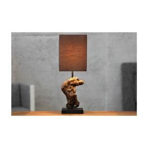 Sivohnedá stolová lampa SOB Kaya