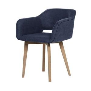 Tmavomodrá jedálenská stolička My Pop Design Oldenburg