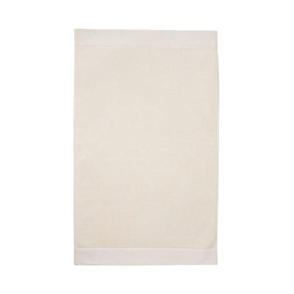 Krémová kúpeľňová predložka Seahorse Pure, 50 x 90 cm