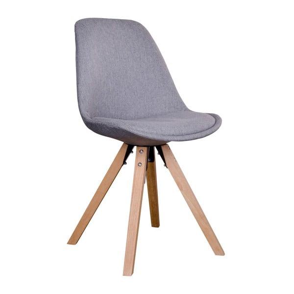 Sada 2 sivých stoličiek House Nordic Bergen
