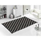 Čierny koberec Homedebleu Madalyon, 120×180cm