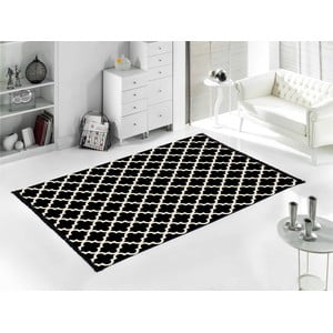 Čierny koberec Home De Bleu Madalyon, 80 x 150 cm