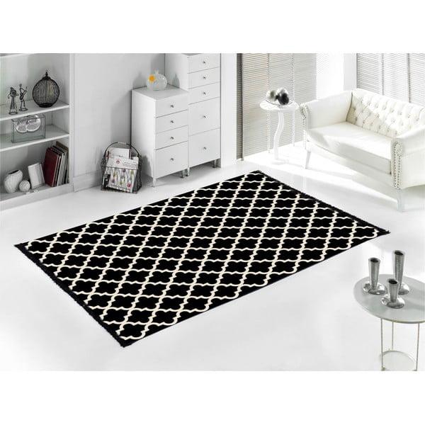 Koberec Madalyon Black, 120x180 cm, čierny