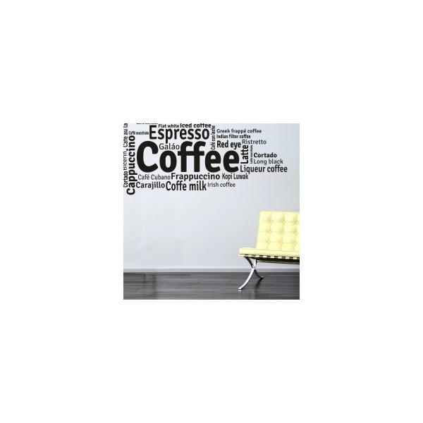 Samolepka na stenu Coffee and Other